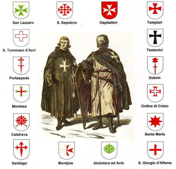 Read more about the article Dipingere le croci degli ordini monastici militari – Masterclass