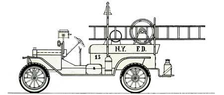 Camion pompieri FORD Mod. T – Masterclass