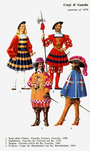 You are currently viewing Corpi di guardie anteriori al 1670 – Masterclass