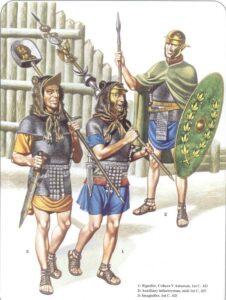 Read more about the article Colore della tunica del legionario romano – Masterclass