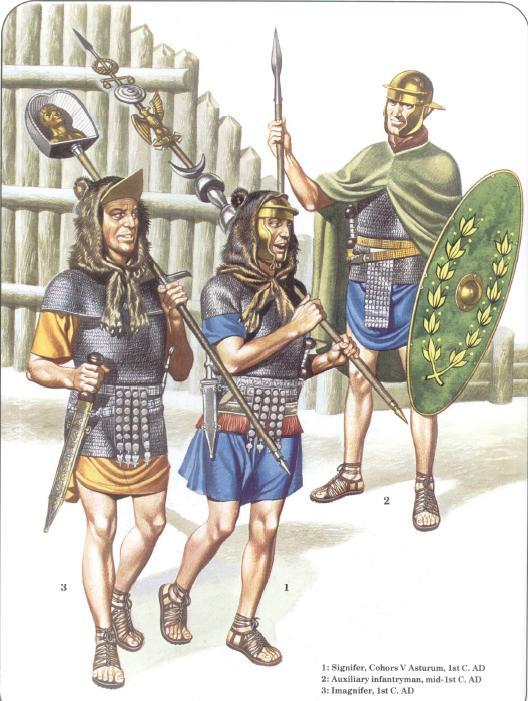 Colore della tunica del legionario romano – Masterclass