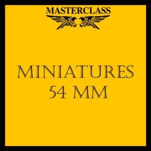 Miniatures in 54mm