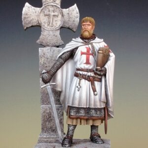 Cavaliere templare in terra santa XIII secolo