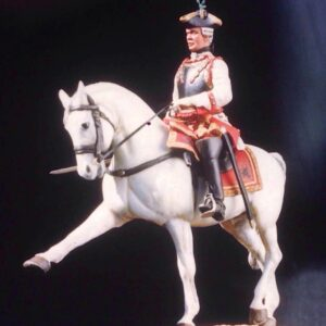 Corazziere austriaco a cavallo