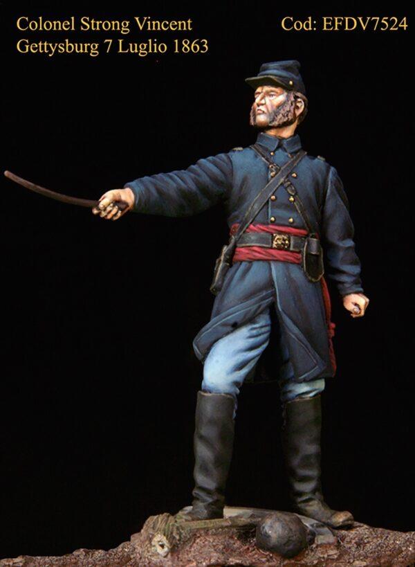 Colonnello Strong Vincent - Battaglia di Gettysburg 7 Luglio 1863