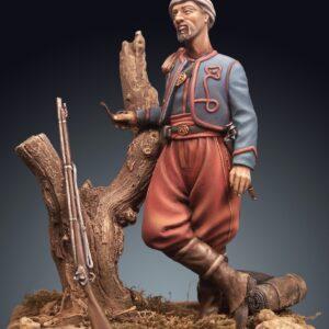 Zuavo confederato guerra secessione