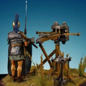 Skorpio With Roman Legionary